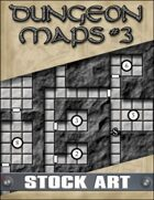 STOCK ART: Dungeon Maps #3