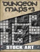 STOCK ART: Dungeon Maps #3