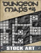 STOCK ART: Dungeon Maps #4