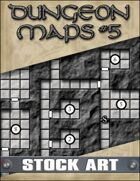 STOCK ART: Dungeon Maps #5