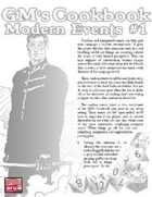 GM'S COOKBOOK: Modern Events #1