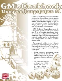 Dungeon Jumpstarters 1