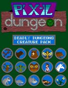 Pixel Dungeon: Fearsome Forests Creature Pack
