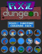Pixel Dungeon: Deadly Dungeons Creature Pack