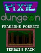 Pixel Dungeon: Fearsome Forests Terrain Pack