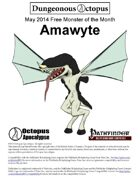 14-05 Free Monster of the Month: Amawyte