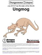 14-07 Free Monster of the Month: Ungmog
