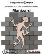 14-11 Free Monster of the Month: Manizard