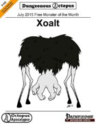 15-07 Free Monster of the Month: Xoalt