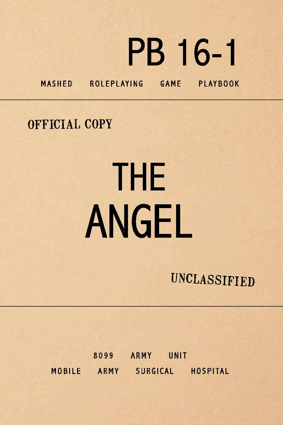 MASHED: The Angel (Deluxe Playbook) - Brabblemark Press   MASHED