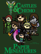 Castles & Chemo: Paper Miniatures II - The Longest Night