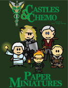 Castles & Chemo: Paper Miniatures III - The Keening Flame