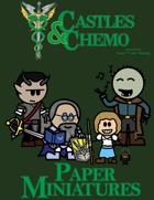 Castles & Chemo: Paper Miniatures IV - The Nightmare Haze