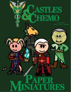 Castles & Chemo: Paper Miniatures VI - The Snake Father