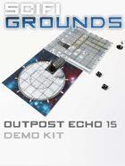 SCI-FI Grounds - Outpost Echo 15 - Landing Platform