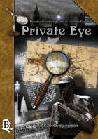 Private Eye - Basic Roleplaying System