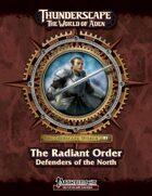 Thunderscape: The Radiant Order