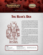 Savage Thunderscape: Aden Gazette 2 - The Bear's Den