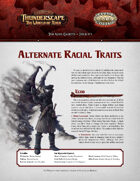 Savage Thunderscape: Aden Gazette 5 - Alternate Racial Traits