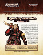 Thunderscape: Aden Gazette 11 - Legendary Gunsmiths, Vol. 1