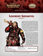 Savage Thunderscape: Aden Gazette 11 - Legendary Gunsmiths, Vol. 1