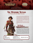 Savage Thunderscape: Aden Gazette 12 - The Warrior Totems
