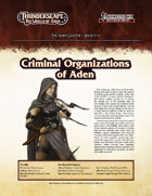Thunderscape: Aden Gazette 18 - Criminal Organizations