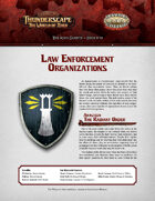 Savage Thunderscape: Aden Gazette 19 - Law Enforcement Organizations