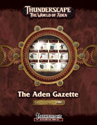 Thunderscape: Aden Gazette Compendium, Volume 2