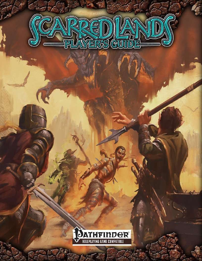 Scarred Lands Player's Guide (Pathfinder)