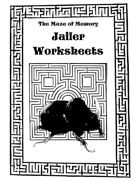 The Maze of Memory Jailer Worksheets