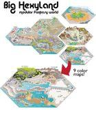 Big Hexyland Modular Fantasy World