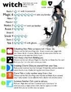 Dungeonteller Witch Hero