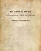 Abenteuer: Ein Winter am Pitz Rüh