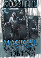 Magical Gaming Tokens - Zombie