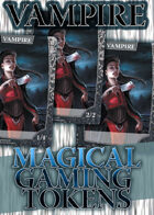 Magical Gaming Tokens - Vampire