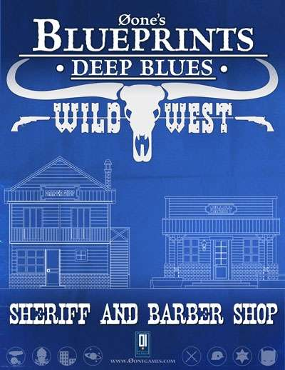 ... Sheriff and Barber Shop - 0one Games 0ones Blueprints RPGNow.com