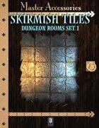 SKIRMISH TILES, dungeon rooms set 1