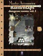 Battlemaps: Dungeon Rooms Vol.I