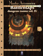 Battlemaps: Dungeon Rooms Vol.IV