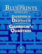 0one's Blueprints: Dwarven Depths - Garrison's Quarters