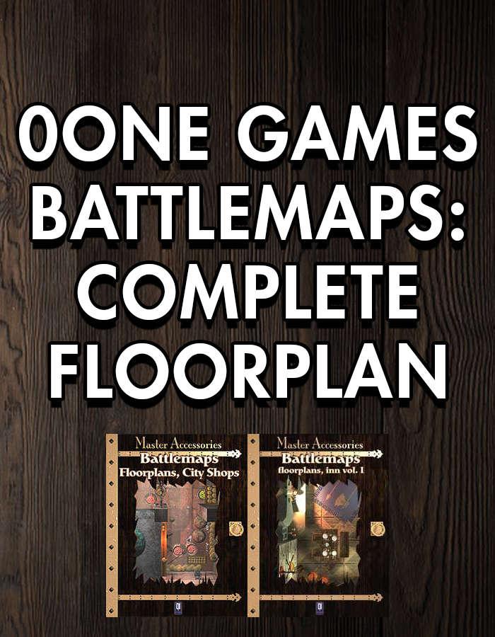 0one Bundle: Complete Floorplan [BUNDLE]