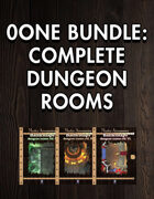 0one Bundle: Complete Dungeon Rooms [BUNDLE]