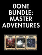 0one Bundle: Master Adventures [BUNDLE]
