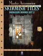 Skirmish Tiles: Dungeon Rooms Set 2