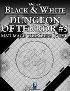 Dungeon of Terror #5: Mad Mage Chambers (West)