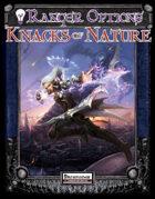 Ranger Options: Knacks of Nature