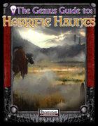 The Genius Guide to Horrific Haunts