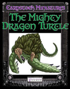 Cardstock Miniatures: The Dragon Turtle