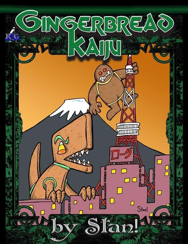 Gingerbread Kaiju